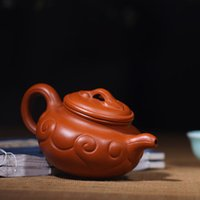 antique tea strainers - Yi xing undressed ore quality goods are recommended Pure manual teapot tea set Zhu mud satisfied antique