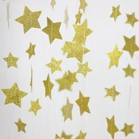 beige shower curtain - Gold Glitter Star Garland Curtain Backdrop Wedding Bridal Shower Decorations Party Decorations