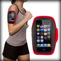 Wholesale by dhl or ems Waterproof Sports Running Armband Case Armband Holder Pounch For iphone G Cell Mobile Phone Arm Bag Band