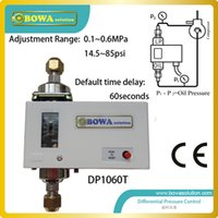 actuating motor - Differential pressure sense on chillers or water cooled condensers and positioning motor actuated valves replace P74 switches
