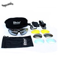 Wholesale Outdoor Sports Hunting Shooting Protection Gear Airsoft Goggles Cycling Sunglasses Daisy C4 Style Tactical Shooting Glasses