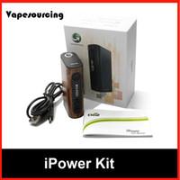 Wholesale Original Eleaf iPower Kit mAh Battery w TC Box Mod Thread fit Eleaf Melo Tank vs iStick Pico Eleaf iNano Kit