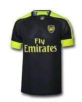 arsenal shirts - Thai quality A Arsenal soccer jersey third black Arsenal MONREAL WILSHERE GIBBS GIROUD Football Shirts