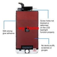 Wholesale For iPhone Plus LCD Screen Touch Digitizer With Full Assembly Best Grade AAA No Dead Pixel DHL