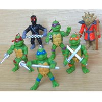 Wholesale 2016 New Action Figures Teenage Mutant Ninja turtles cartoon peripherals customized dolls for Movies Video Game Cartoon