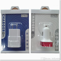Wholesale hot selling skin packing with black and white can easy fit for dual port usb car charger wall charger and use easy