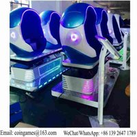 arcade simulator - Amusement Equipment Virtual Reality Motion Chair Seats D VR Simulator Egg Cinema Movie Arcade Game Machine