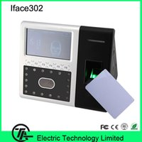 Wholesale Good quality high speed Iface302 face time attendance with fingerprint and IC card access control