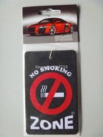 airs list - pieces Car air freshener The non smoking sign The New listing For the health of you and your family please no smoke