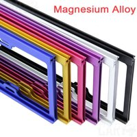 Wholesale Car Styling Car license frame magnesium alloy plate frame car license plate frame license plate frame