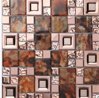 o bathroom production - The production of glass mosaic tile bathroom decoration tile background TV D B