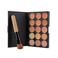Wholesale Makeup Makeup Sets Fashion New Colors Contour Face Cream Makeup Concealer Palette Powder Brush