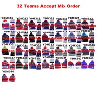 beach canada - New Team Beanies Caps Sports Hats Types Winter Knitted Hats More PCA Send by EMS DHL to USA Canada Australia Mix Oder