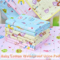 Wholesale Random Delivery Portable Urine Mat Waterproof Baby Infant Bedding Changing Nappy Cover Pad New