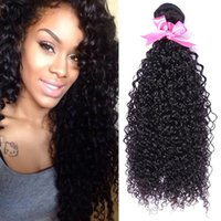 Wholesale New style Star fashion the Peruvian man made kinky curly high quality unprocessed extension human hair drop shipping