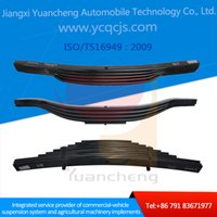 Wholesale Hino Small Parabolic Conventional Trailer Truck Front Rear Suspension Leaf Spring Made in China