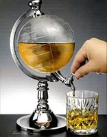beverage decanter - 1 L water dispenser globe beer machine mini globe beverage machine Globe Shaped Beverage Dispenser Wine Decanter Beer Machine Pump Bar Tool