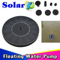 Wholesale High Quality V Floating Solar Water Pump Panel For Garden Plants Watering Power Fountain Pool Water Cycle Rockery Fountain
