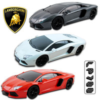 Wholesale LICENSED LAMBORGHINI AVENTADOR LP700 ELECTRIC RC RADIO REMOTE CAR KID TOY