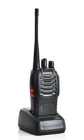 Wholesale BAOFENG BF S Walkie Talkie W CH UHF Two Way Radio Interphone Transceiver Mobile Portable Radio