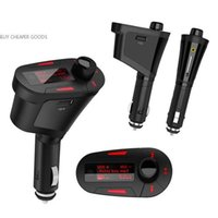 Wholesale Bluetooth Car Kit MP3 Player Wireless FM Transmitter Modulator USB SD MMC LCD With Remote