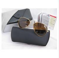 achat en gros de lunettes de soleil aviateur pilote-Lunettes de soleil Aviator Hommes Lunettes de vue de haute qualité Lunettes de soleil Lunettes de soleil en métal