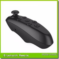 Wholesale Universal Bluetooth Remote Controller wireless Gamepad Mouse Mini Wireless joystick For iPhone For Samsung Android IOS VR BOX Glasses