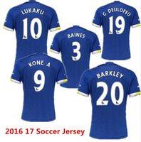 accept t shirts - 2016 top new Evertonizers Adult Home T shirt maillot de Football everton Shirt soccer uniforms Accepted Mix Order Free shipp