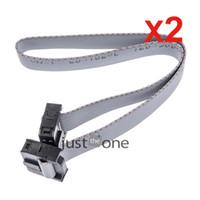 Wholesale CM FC P USBISP USBASP JTAG AVR Download Wire P Ribbon Cable mm