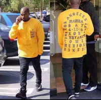 Wholesale 2016 Yeezus T Shirt I Feel Like Kobe T Shirt Men Kobe Retire Commemorative Mamba T Shirt Yeezus Hip Hop Sport Tees Tops Kanye West
