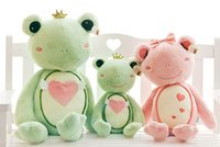 best christmas story - 2016 New Best Lovers Or Wedding Gift Cute Plush Toys Frog Fairy Tale story Of Prince Princess