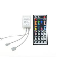 Wholesale Mini IR Remote Controller Ports DC V For RGB SMD Led Strip Wireless Keys Keys