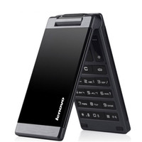gsm mobile phone - Original Lenovo MA388 inch Business Elders Flip Mobile Phone MP3 FM Flashlight Camera Bluetooth Dual SIM GSM Network Men Cell phone