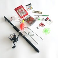 fishing rod kits - Gsense New Carbon Telescopic Fishing Rod with Reel Combo Retractable Travel Sea Fishing Rod Freshwater Rod Kit