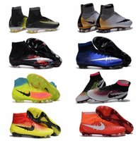 Wholesale Mercurial CR7 Superfly Soccer Cleats Cristiano Ronaldo High Ankle Football Boots New Magista Obra Orden FG Soccer Boots Men s Soccer Shoes