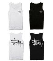 Wholesale 2015 summer american style undershirt skateboard Women Men s Vest preppy style cool street sleeveless vest On Big Promotion