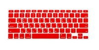 Wholesale For Apple Macbook Air Mac Pro Retina Keyboard Cover New Korean Keyboard US Version Silicone Protector Stickers Skin