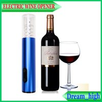 battery corkscrew - Batteries Opener Electric Automatic Wine Bottle Opener Electric Corkscrew Electric Wine Opener Tool Foil Cutter