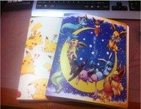 al por mayor álbumes de bolsillo-Pikach meter Collection cartas de monstruo de bolsillo del álbum xy 324pcs Booklist naipes poke titular de disco libre del envío