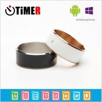 Wholesale Smart Rings Black white Wear Jakcom new technology Magic jewelry Timer2 For iphone Samsung HTC Sony LG IOS Android ios Windows FREE DHL