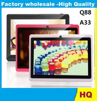 battery tablet android - 2016 Q88 Pro Allwinner A33 inch Tablet PC Android Quad Core Dual Cam GHz MB GB Large Battery GOOD