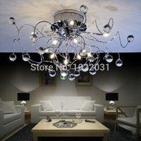 Wholesale Modern Crystal Chandelier Light fashion branch Chandelier
