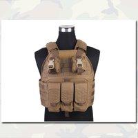 Wholesale SPC Tactical Vest US Assault Vest Emerson Airsoft Paintball Combat Police Duty Vest CB