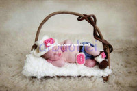 baby cowgirl - Newborn Baby Gift Girl Cowboy Cowgirl Hat Pants Boots Set Baby Photography Prop Crochet Knitted Costume animal backpack