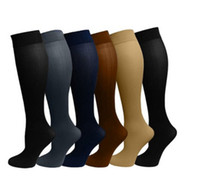 army fatigues women - Compression socks for men and women miracle socks Leg Socks Anti Fatigue Compression Stocking mens sports socks athletic socks colors