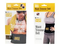 belly slimming exercises - Sweet Sweat Waist Trimmer Belt Adjustable Sweet Waist Trimmer Sweat Belt Shaper Slimming Belt Wrap Belly Exercise Tummy Cinchers Girdle