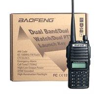 Wholesale BaoFeng UV Dual Band MHz FM Ham Two way Radio émetteur récepteur HT Avec Batterie antenne et Chargeur