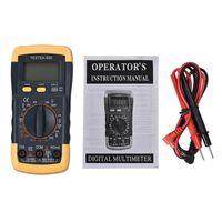 Wholesale Super Deal LCD Digital Multimeter Ammeter Voltmeter Ohmmeter Current Tester HYM20