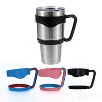 Wholesale Portable Hand Holder For TETI Rambler Tumbler Mugs oz Cups Cool summer for Outdoor Travel Portable Double Wall Car Cups