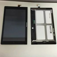 bar monitor - For Lenovo Yoga Tablet B8000 New Full Touch Screen Panel Digitizer Glass LCD Display Monitor Assembly Replacement